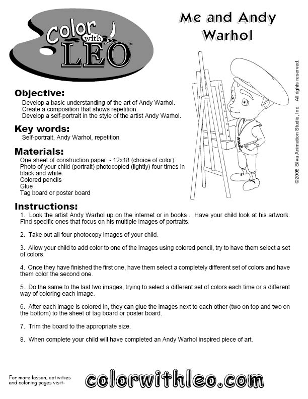 Free Art Lessons and Activities for Kids