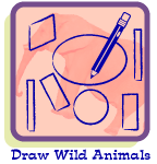Click to draw wild animals and