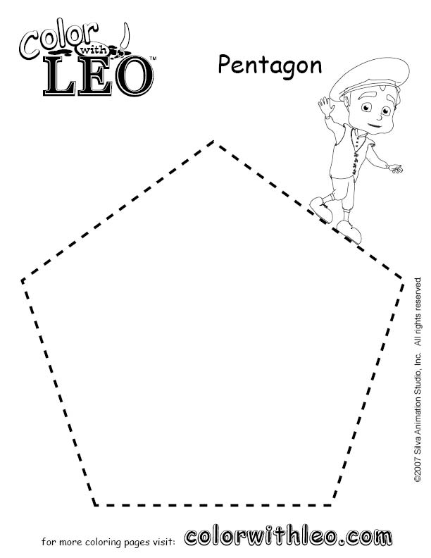printable cresent shapes coloring pages - photo#33