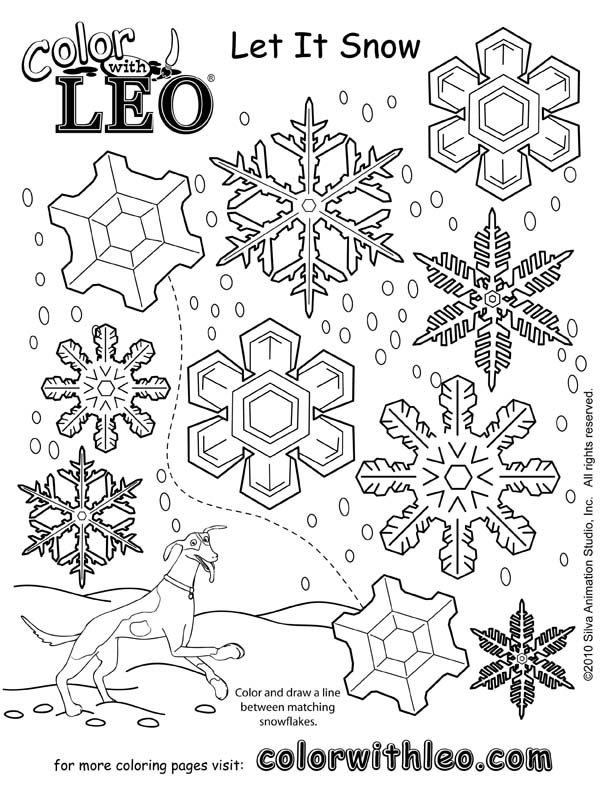 Print free seasonal coloring pages of puzzles and games for kids.